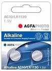 Agfaphoto alkáli gombelem AG10 LR1130 (2db) ad6d4f0ac8