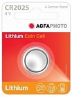 Agfaphoto lítium gombelem CR2025 (1db) 3c435d3fb4