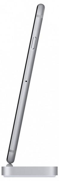 Apple iPhone 7 6s Lightning Dock (asztroszürke) space gray dokkoló állomás