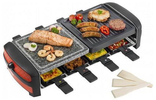 bestron arc800 raclette grills t. Black Bedroom Furniture Sets. Home Design Ideas