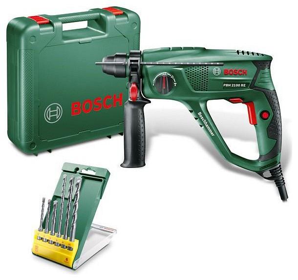 Bosch PBH 2100 RE fúrókalapács tartozékokkal