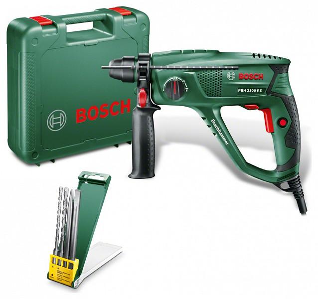 Bosch PBH 2100 RE fúrókalapács vésőfunkció 2 fúró + 2 vésőszár