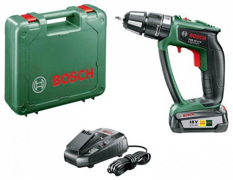 Bosch psr 18 li 2 akkus f r csavaroz rg p - Bosch psr 18 li 2 ...