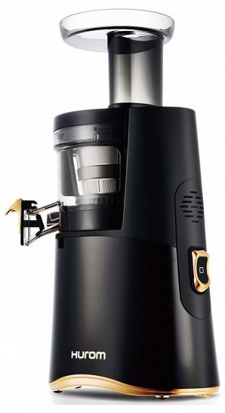 Hurom Alpha HA Slow Juicer gyumolcsprEs (fekete/arany) - 220volt.hu