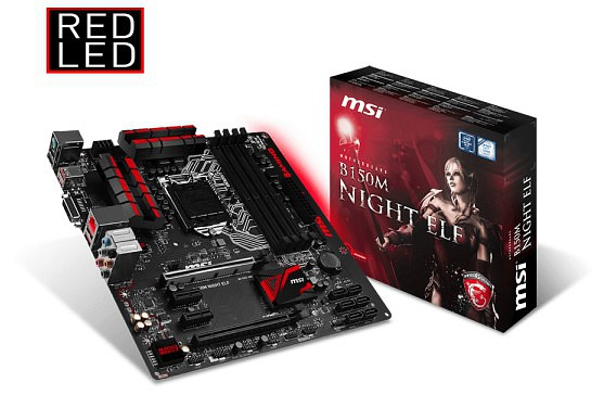 MSI B150M NIGHT ELF B150M NIGHT ELF