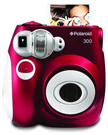 Polaroid 300 instant fényképezőgép (piros)