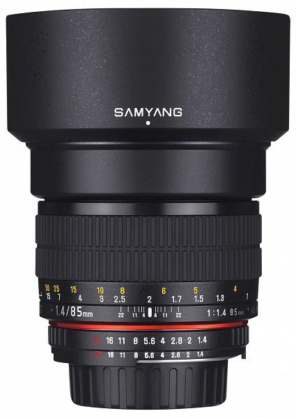 Samyang 85mm f/1.4 AS IF UMC (4/3, Olympus)