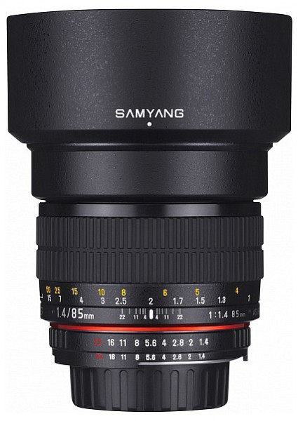 Samyang 85mm f/1.4 AS IF UMC (Canon M)
