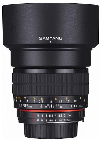 Samyang 85mm f/1.4 AS IF UMC (Micro 4/3)