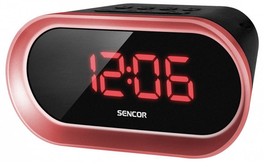 Sencor SRC 150 R rádiós ébresztőóra (piros) 0c4f168e2b