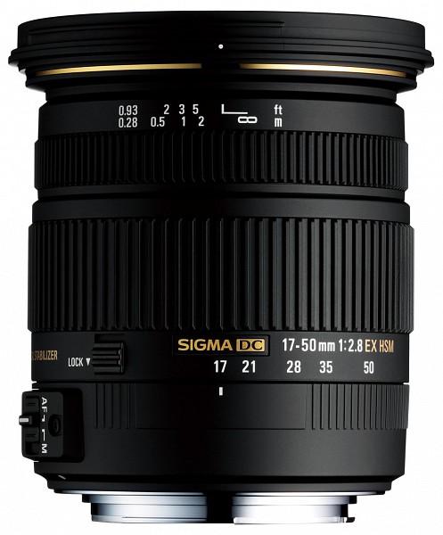 Sigma 17-50mm f/2.8 EX DC OS HSM (Canon)