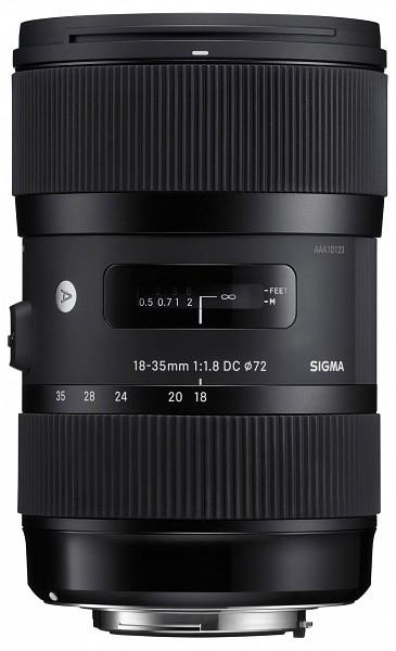Sigma 18-35mm f/1.8 DC HSM Art (Nikon)