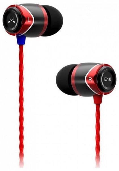 SoundMAGIC E10 In-Ear fülhallgató (fekete-piros) - 220volt.hu 4f8eedfa55