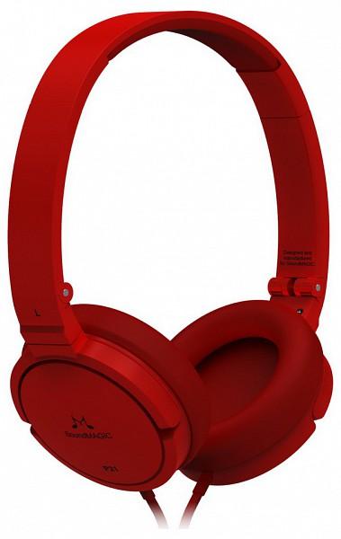 SoundMAGIC P21 On-Ear fejhallgató (piros) - 220volt.hu f2ea77ce63