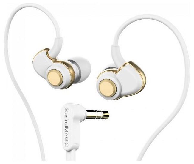 SoundMAGIC PL30+ In-Ear fülhallgató (fehér-arany)