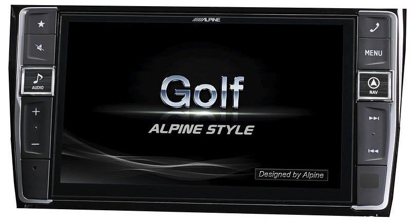alpine x901d g7 navig ci s rendszer vw golf 7. Black Bedroom Furniture Sets. Home Design Ideas