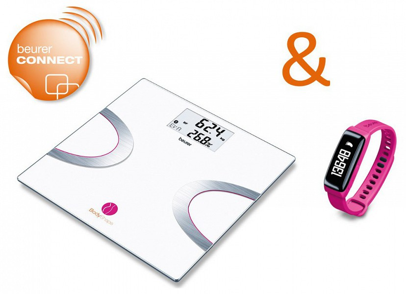 cd82771f0 Beurer Body Shape promočný balíček BF 710 + AS 81 ružový