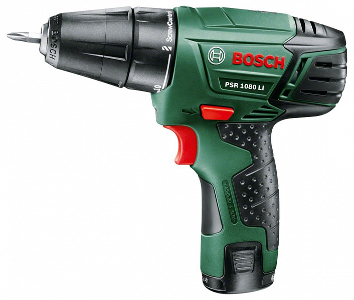 Bosch PSR 1080 LI akkus fúrócsavarozó »–› ÁrGép
