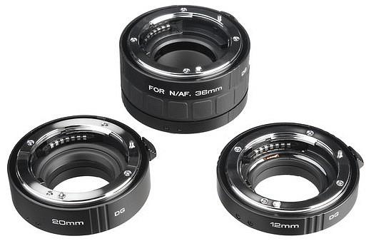676ac097dc6b Kenko DG közgyűrűsor fém vázzal (12mm, 20mm, 36mm) (Nikon AF) (használt)