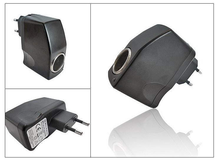 konverter szivargy jt t lt h z 220v 12v. Black Bedroom Furniture Sets. Home Design Ideas