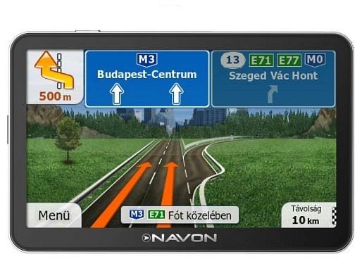 igo8 európa térkép letöltés ingyen Navon N490 Plus (iGO8 teljes Európa térképpel) + Élettartam  igo8 európa térkép letöltés ingyen