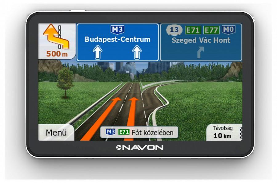 igo primo magyarország térkép Navon N670 Plus (iGO Primo 2.01 teljes Európa térképpel) +  igo primo magyarország térkép