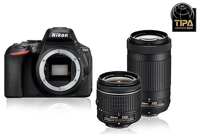 a73e116dbeb8 Nikon D5600 kit (DX 18-55 mm f/3.5-5.6 VR + DX 70-300 mm f/4.5-6.3 VR) -  220volt.hu
