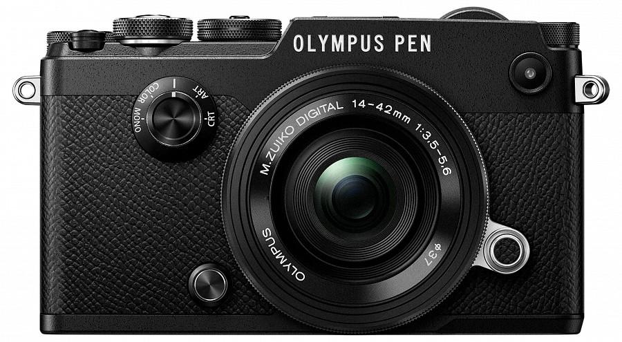 385a53c7c4b6 Olympus PEN-F Pancake kit (14-42 mm f/3.5-5.6 EZ Pancake) (fekete/fekete) -  220volt.hu