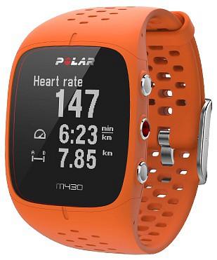Polar M430 GPS-es futó óra (narancssárga) f5b07db2b4