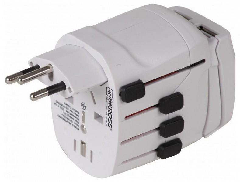 Skross World Adapter Pro USB - 220volt.hu