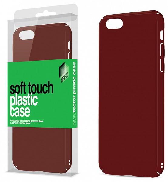 Xpro Case Apple Iphone 6 Plus 6S Plus Soft-touch felületű plasztik puzdro ( červený) c8fd7908b19