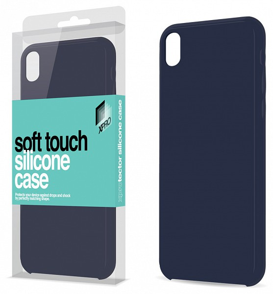 Xpro Case Apple iPhone 7   8 Soft Touch silikónové puzdro (tmavomodrý) -  220volt.sk 5b409ba7ad7