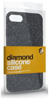 Xpro Case Samsung Galaxy S8 diamond silikónové púzdro (čierne) 0a7a69795a