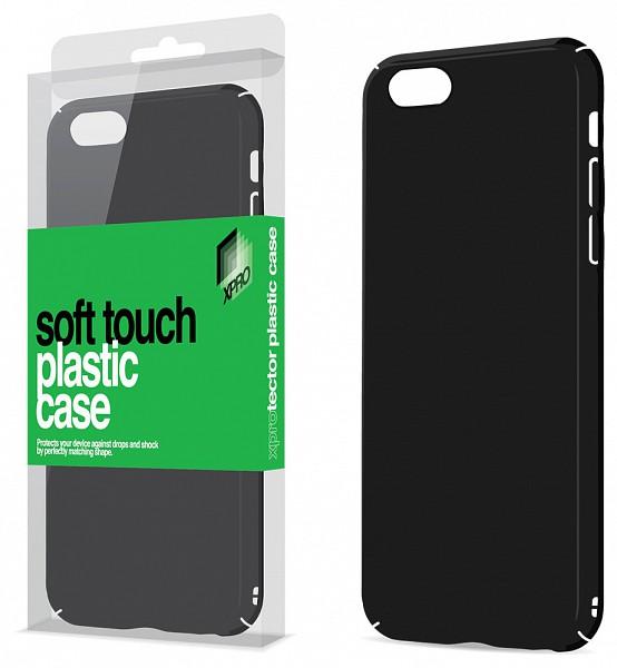 Xpro Case Xiaomi Mi 5x   Xiaomi A1 plasztik tok Soft-touch felülettel  (fekete) d443502aa9