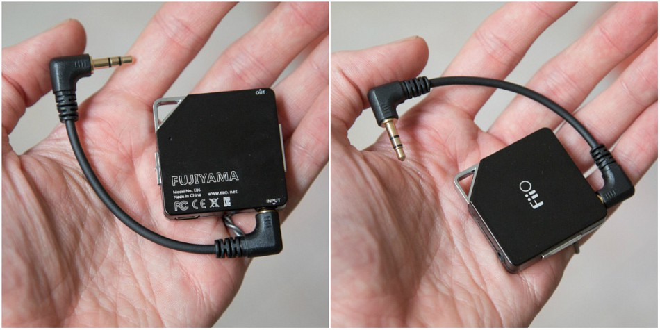 FiiO Fujiyama E06 fejhallgató erősítő dd8ee4027e